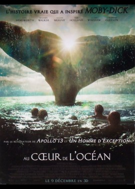 affiche du film AU COEUR DE L'OCEAN