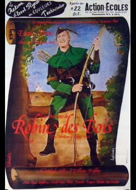 ADVENTURES OF ROBIN HOOD (THE) movie poster