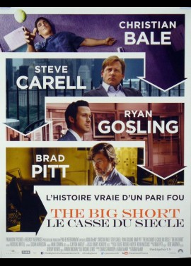BIG SHORT (THE) movie poster