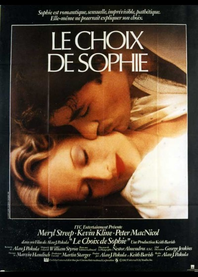 affiche du film CHOIX DE SOPHIE (LE)