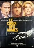 CHOIX DES ARMES (LE)