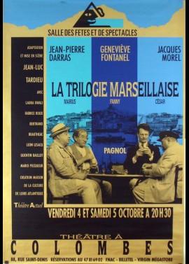 affiche du film TRILOGIE MARSEILLAISE (LA) MARIUS FANNY CESAR