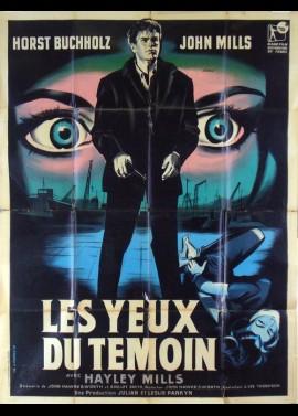 affiche du film YEUX DU TEMOIN (LES)
