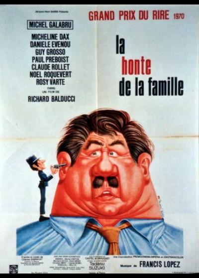affiche du film HONTE DE LA FAMILLE (LA)