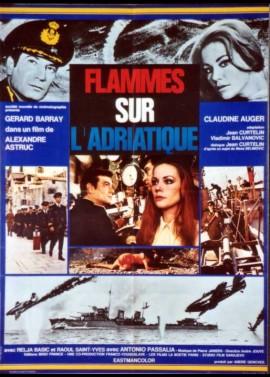 FLAMMES SUR L'ADRIATIQUE movie poster