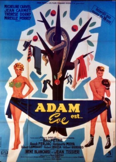 affiche du film ADAM EST EVE