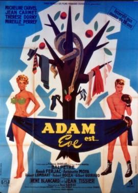 ADAM EST EVE movie poster