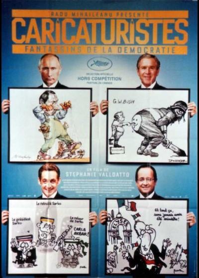 CARICATURISTES FANTASSINS DE LA DEMOCRATIE movie poster