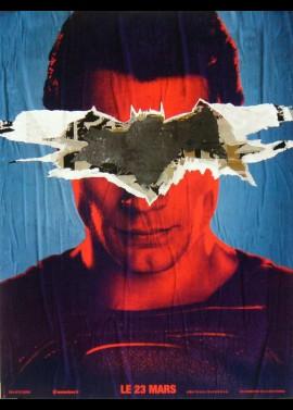 affiche du film BATMAN VERSUS SUPERMAN L'AUBE DE LA JUSTICE