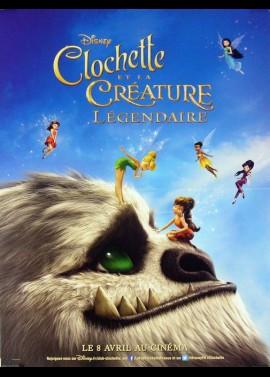 affiche du film CLOCHETTE ET LA CREATURE LEGENDAIRE