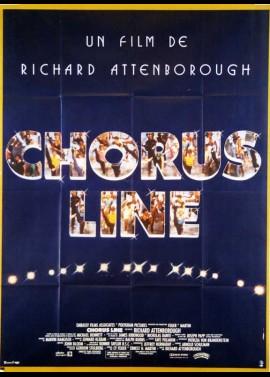A CHORUS LINE movie poster