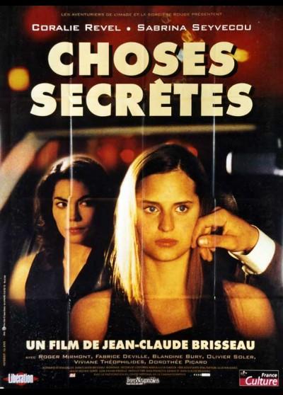 affiche du film CHOSES SECRETES