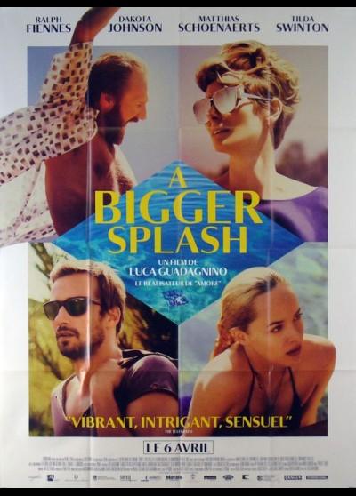 affiche du film A BIGGER SPLASH