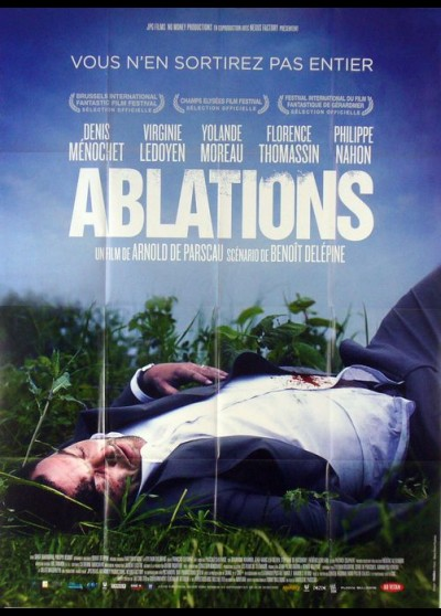 affiche du film ABLATIONS