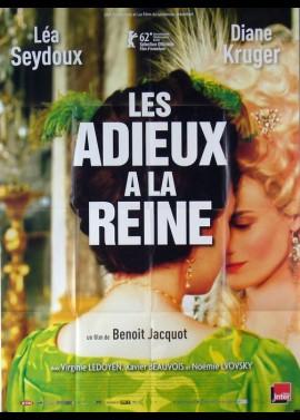 affiche du film ADIEUX A LA REINE (LES)