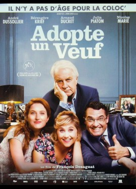 ADOPTE UN VEUF movie poster
