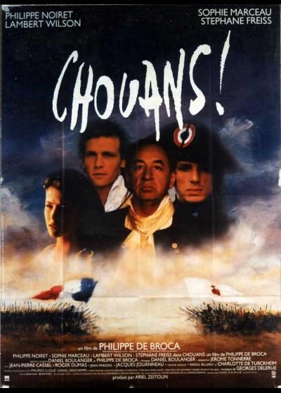 affiche du film CHOUANS