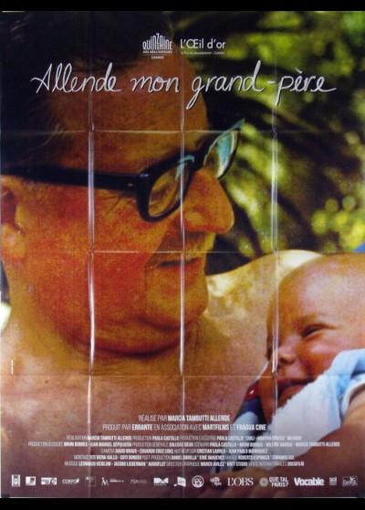 affiche du film ALLENDE MON GRAND PERE