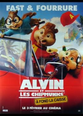 affiche du film ALVIN ET LES CHIPMUNKS SUR LA ROUTE