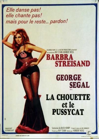 affiche du film CHOUETTE ET LE PUSSYCAT (LA)