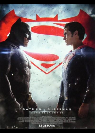 BATMAN VS SUPERMAN DAWN OF JUSTICE movie poster