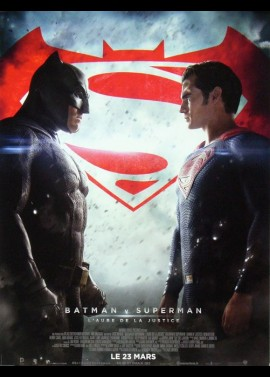 BATMAN VS SUPERMAN DAWN OF JUSTICE movie poster