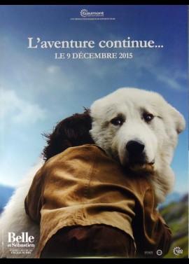 affiche du film BELLE ET SEBASTIEN L'AVENTURE CONTINUE