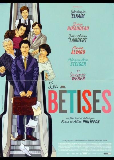 affiche du film BETISES (LES)
