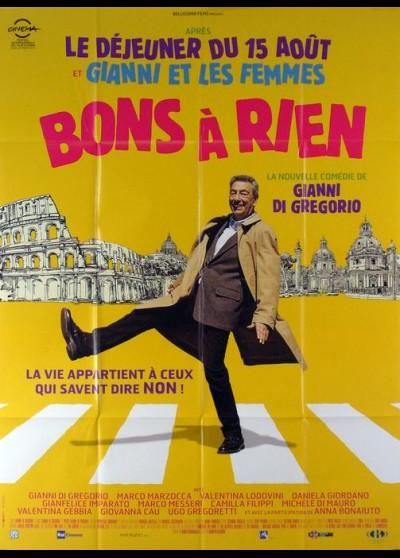 affiche du film BONS A RIEN