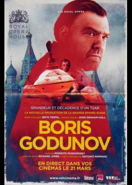 BORIS GODUNOV movie poster
