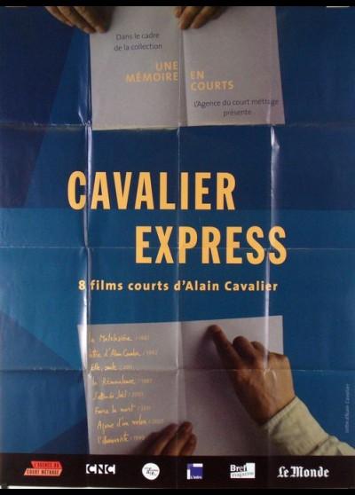 affiche du film CAVALIER EXPRESS COURTS METRAGES