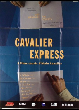affiche du film CAVALIER EXPRESS COURTS METRAGES