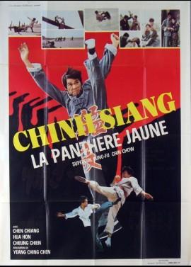 affiche du film CHIN SIANG LA PANTHERE JAUNE