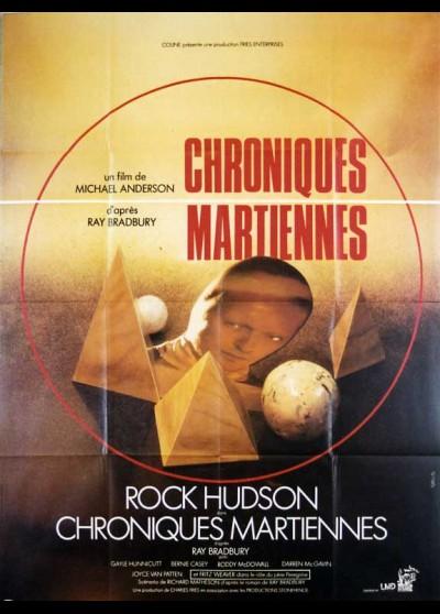 affiche du film CHRONIQUES MARTIENNES