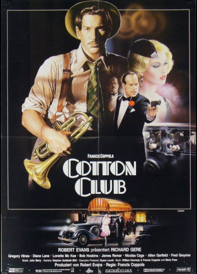 COTTON CLUB (THE) movie poster