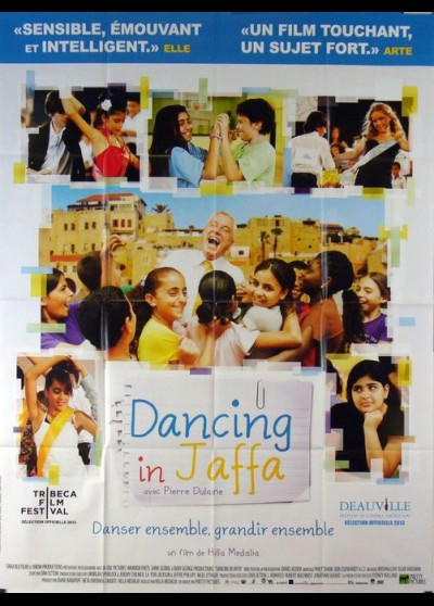 affiche du film DANCING IN JAFFA