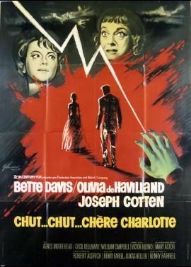 affiche du film CHUT CHUT CHERE CHARLOTTE