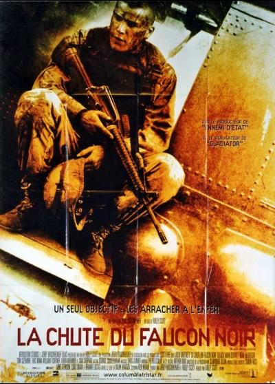 affiche du film CHUTE DU FAUCON NOIR (LA)