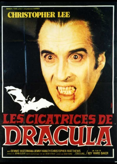 SCARS OF DRACULA movie poster