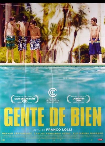 affiche du film GENTE DE BIEN