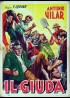JUDAS (EL) movie poster