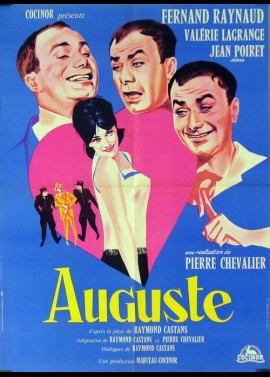 AUGUSTE movie poster