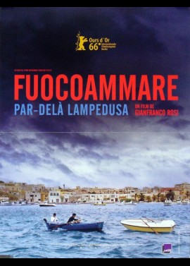 FUOCOAMMARE movie poster