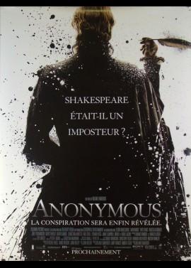 affiche du film ANONYMOUS