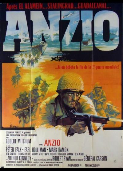 affiche du film ANZIO