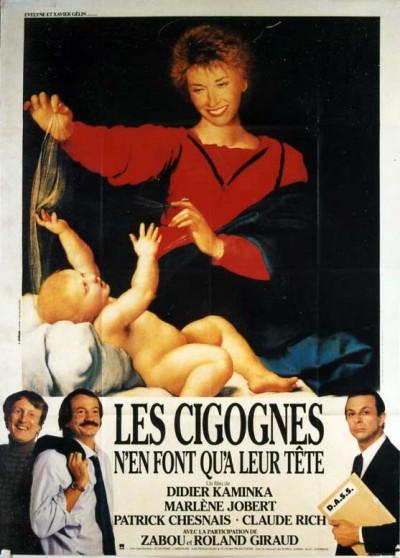 affiche du film CIGOGNES N'EN FONT QU'A LEUR TETE (LES)