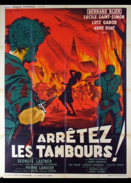 ARRETEZ LES TAMBOURS movie poster