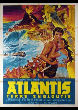 affiche du film ATLANTIS TERRE ENGLOUTIE