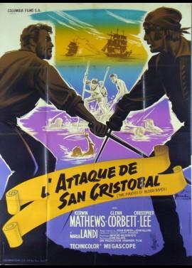 affiche du film ATTAQUE DE SAN CRISTOBAL (L')