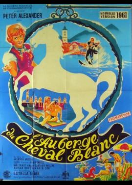 affiche du film AUBERGE DU CHEVAL BLANC (L')